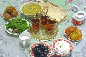 بیست فرمان تغذیه در ماه مبارک رمضان