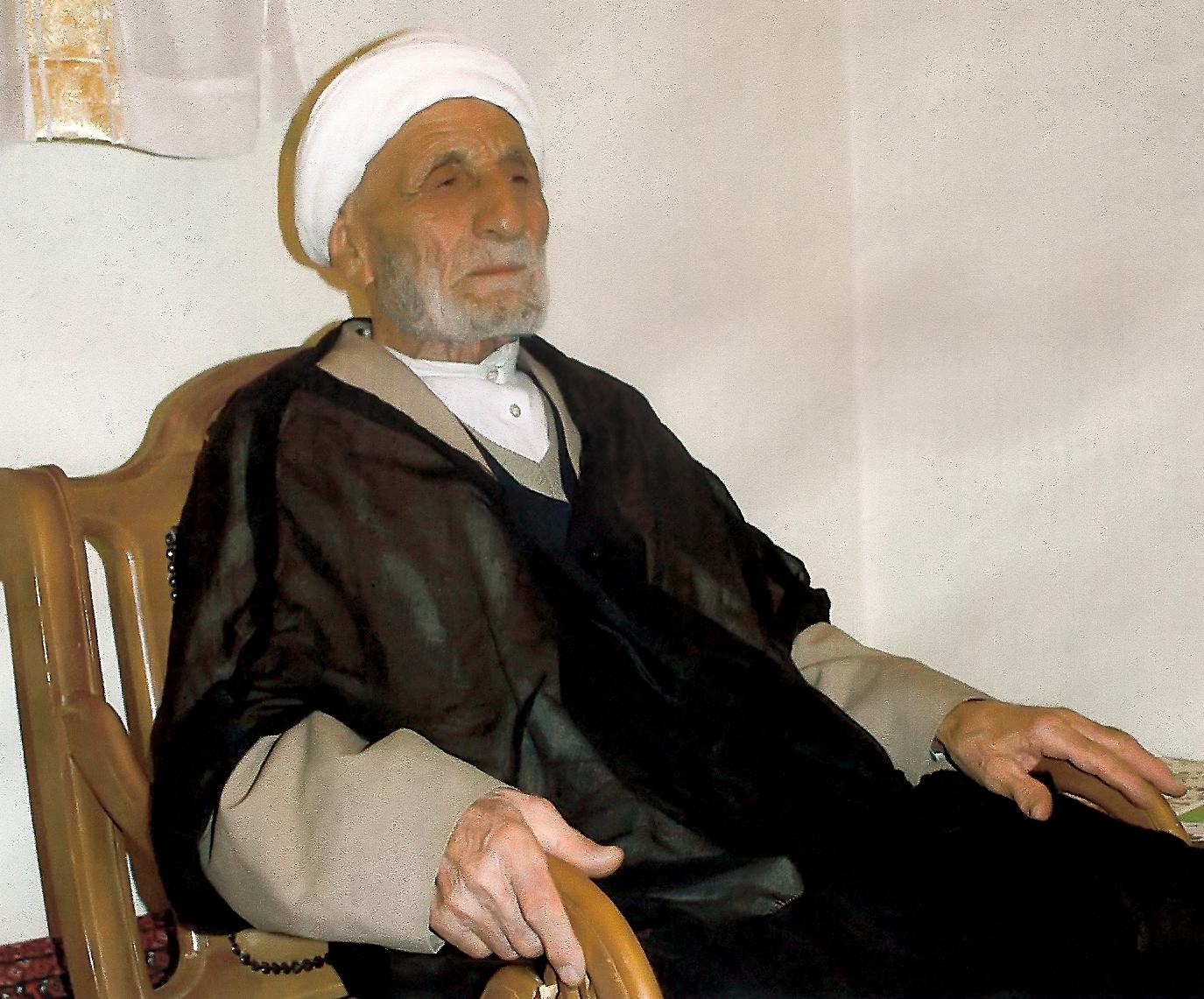 حجت الاسلام والمسلمین حاج شیخ فتح الله تاجیک اسماعیلی